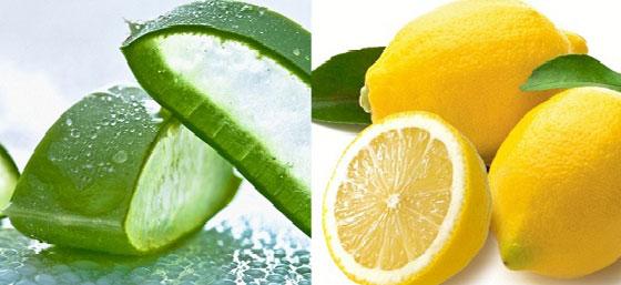 Aloe Vera with lemon