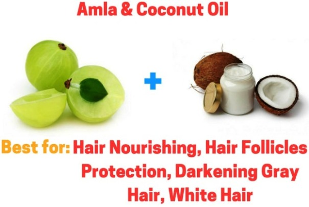 Amla Coconut Oil for Hair re growth