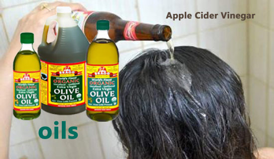 Apple Cider Vinegar With Oils