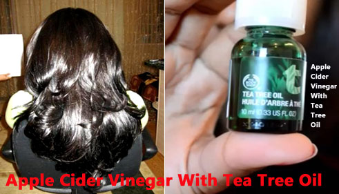 Apple Cider Vinegar With Tea Tree Oil