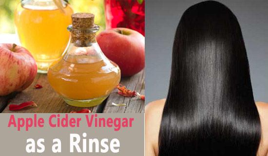 Apple Cider Vinegar as a Rinse