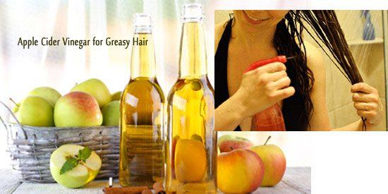 Apple Cider VinegarforGreasy Hair