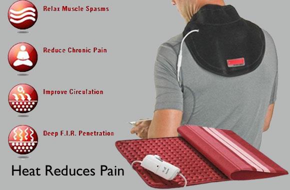 Heat Reduces Pain