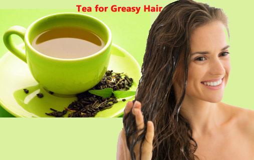TeaforGreasy Hair: