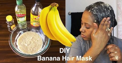 Use of Banana mask